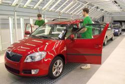 Škoda Roomster - výroba