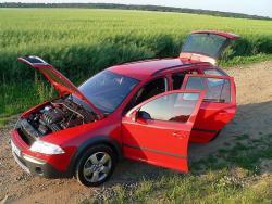 Škoda Octavia Scout - open