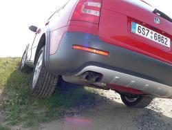 Škoda Octavia Scout - zad