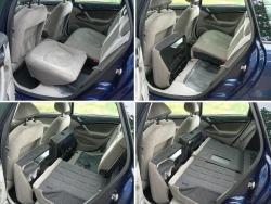 Citroën C5 Break 2.2 HDI - sklapeni sedadel