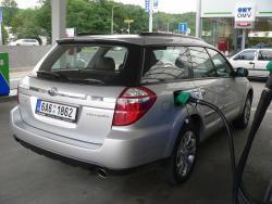 Subaru Outback - tank1