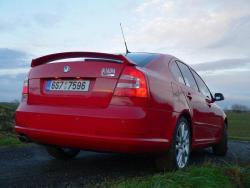 Škoda Octavia II. RS 2.0 TFSI - bokozad
