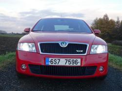 Škoda Octavia II. RS 2.0 TFSI - prid