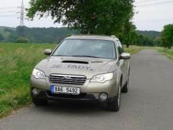 Subaru Outback 2.0D - jizda