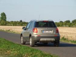 Fiat Sedici 1.9 Multijet - jizda
