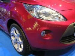 Ford Ka - autosalon - detail karoserie