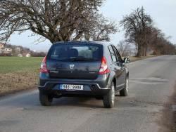 Dacia Sandero 1.5 dCi - jizda2