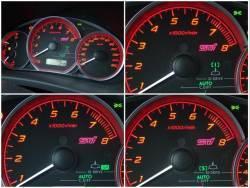 Subaru Impreza WRX STi - režimy