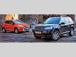 Ford Kuga vs. Land Rover Freelander 2