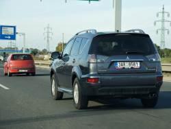 Mitsubishi Outlander - jizda
