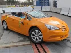 Crashtest Opel Cascada