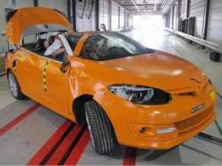 Crashtest Renault Megane CC