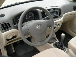 Hyundai Accent 1.5 CRDi - interiér