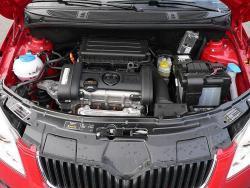 Škoda Roomster 1.4 16V - motor