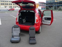 Škoda Roomster 1.4 16V - kufr 1