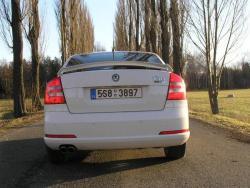 Škoda Octavia RS - zad