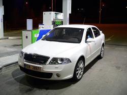 Škoda Octavia RS - tank