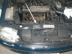Ford Escort - Typové štítky - Umístění
