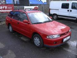 Mitsubishi Lancer - bok