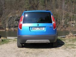 Škoda Roomster Scout - zadek