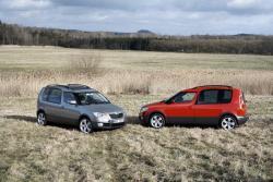 Škoda Roomster Scout - dva vozy