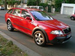 Škoda Octavia Scout - jizda