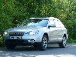 Subaru Outback - jizda