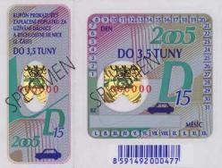 Nejvyšší čas pro novou dálniční známku