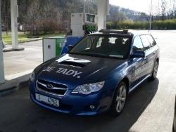 Subaru Legacy 2.0D - tank