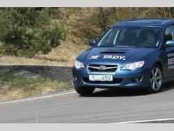 Subaru Legacy 2.0D - jizda