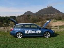 Subaru Legacy 2.0D - bok