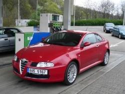 Alfa Romeo GT 1.8 TS - tank