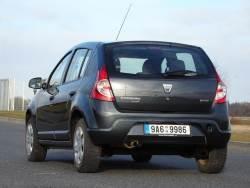 Dacia Sandero 1.5 dCi - zad
