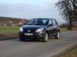 Dacia Sandero 1.5 dCi - jizda