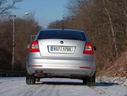 Škoda Octavia 1.4 TSI - zad