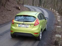 Ford Fiesta 1.25 Duratec - jizda2