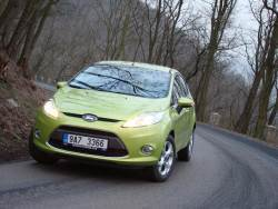 Ford Fiesta 1.25 Duratec - jizda