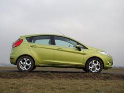 Ford Fiesta 1.25 Duratec - bok