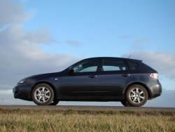 Subaru Impreza 2.0D - bok