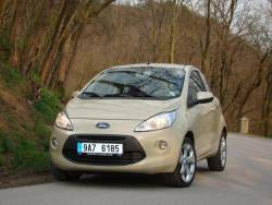 Ford Ka 1.2 Duratec - jizda