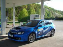 Subaru Impreza WRX STi - tank1