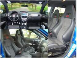 Subaru Impreza WRX STi - sedačky