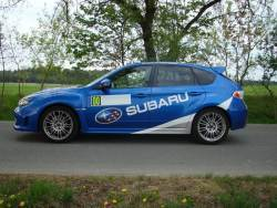 Subaru Impreza WRX STi - bok