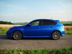 Subaru Impreza WRX 265 - bok