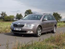 Škoda Superb Combi - prid